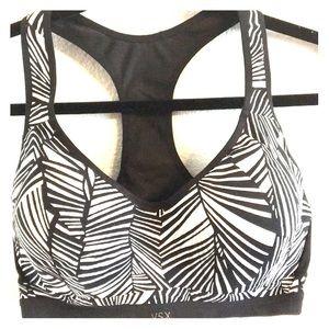 Victoria's Secret zebra Sports Bra 36D